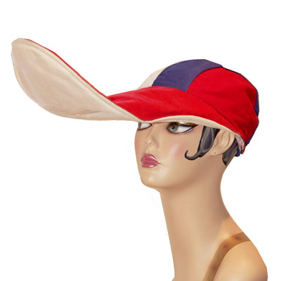 Duckbill Novelty Hat, Red White Blue