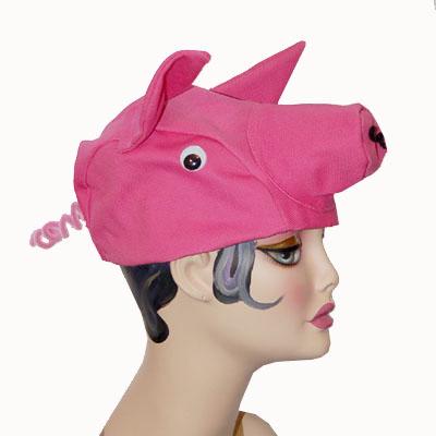 Pig Style Cap Novelty Animal Hat - WE Hats 8c52d45b029c