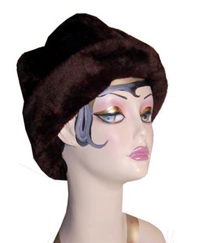 Thick Faux Fur Cuffed Beanie Hat