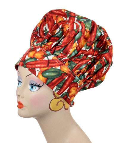 Chef Style Cap Novelty Hat Pepper