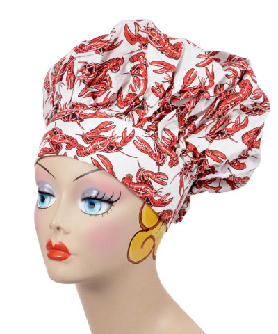 Chef Style Cap Novelty Hat Lobsters