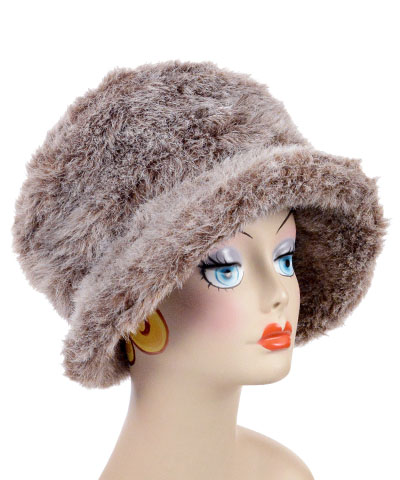 Badger Faux Fur Coachwoman Hat