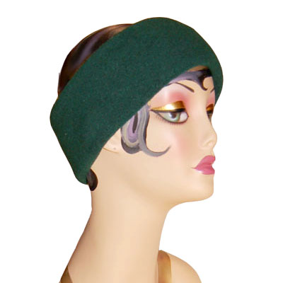 Polar Fleece Headband Green