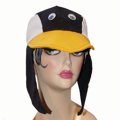 Penguin Style Bird Cap Novelty Animal Hat With Wings