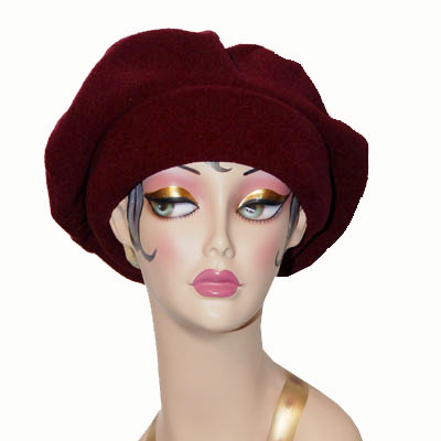 Polar Fleece Regular Beret Hat
