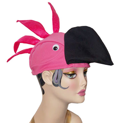 Flamingo Style Bird Cap Novelty Animal Hat