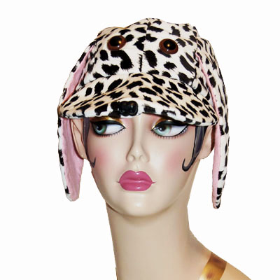 Dalmatian Style Dog Cap Novelty Animal Hat
