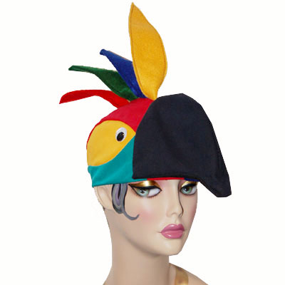 Parrot Style Bird Cap Novelty Animal Hat