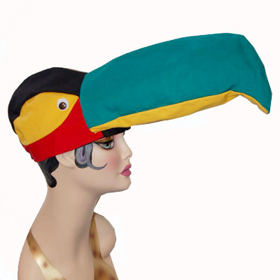 Toucan Style Bird Cap Novelty Animal Hat