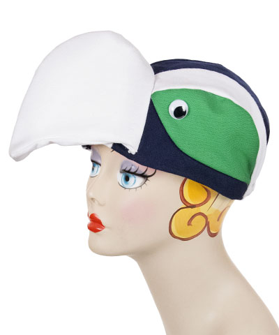 Seattle Team Spirit Style Bird Cap Novelty Animal Hat - Seattle