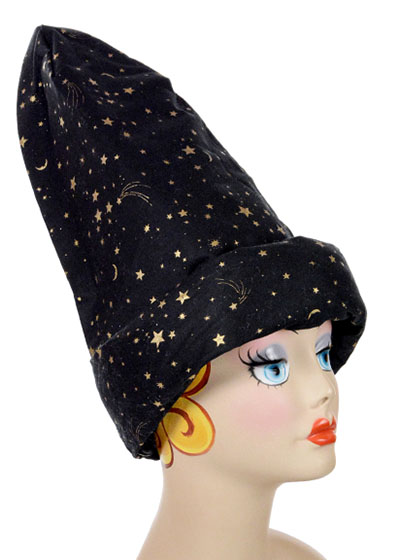 Wizard Style Cap Novelty Sorcerer Hat