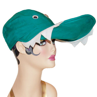 Gator Style Crocodile Cap Novelty Animal Hat