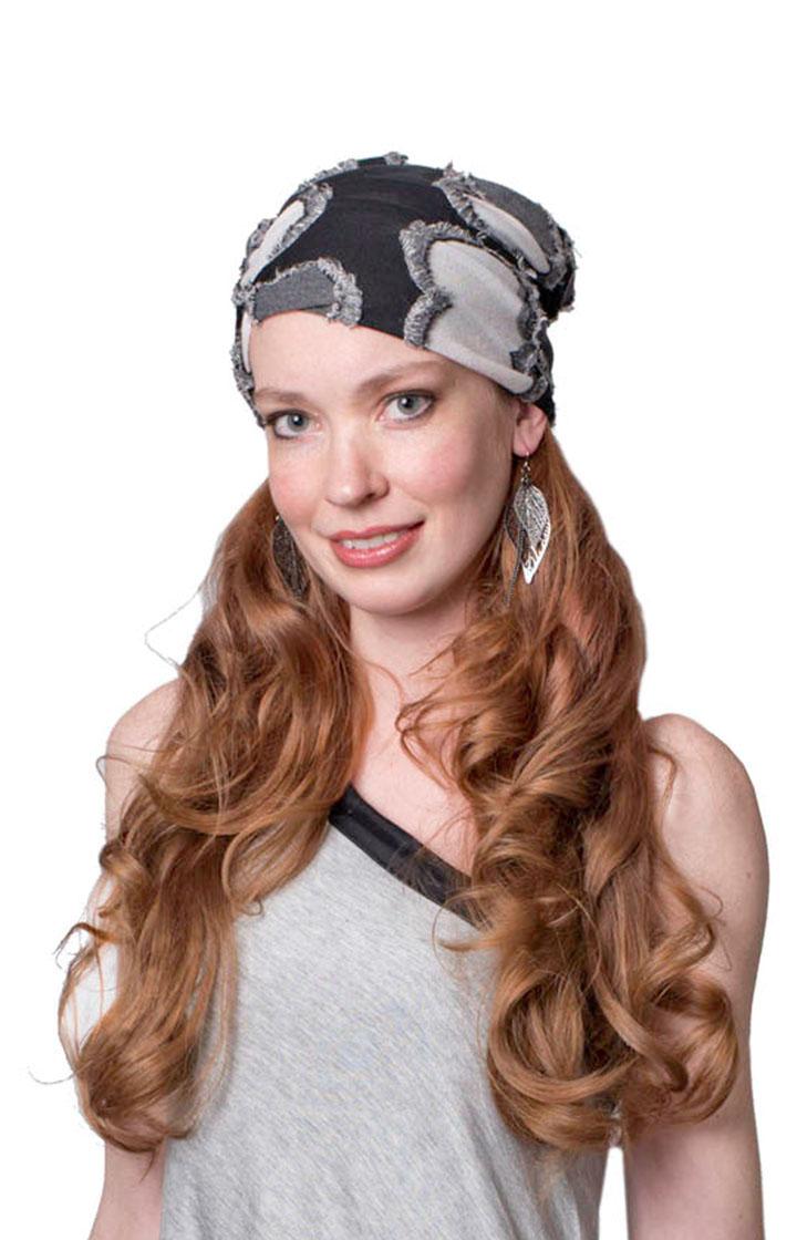 Edith Hat in Splash - Model Shot