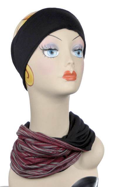 Raquel, Multi-Style in Reflections in Sunset - Neck Warmer