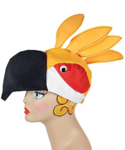 Cockatiel Style Bird Cap Novelty Animal Hat
